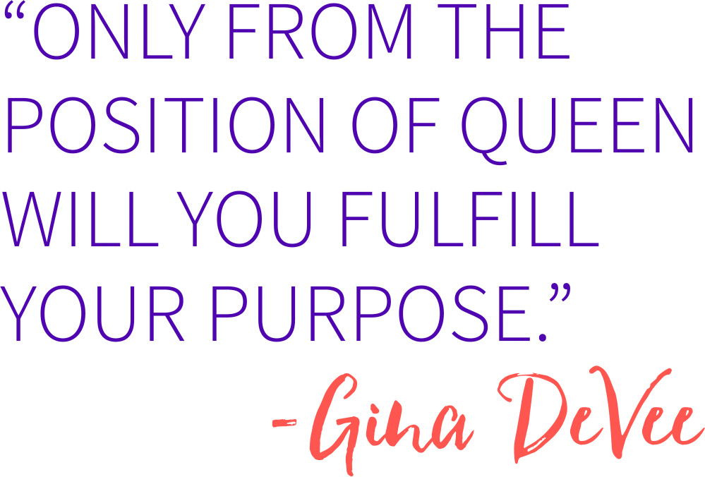 Gina DeVee Quote