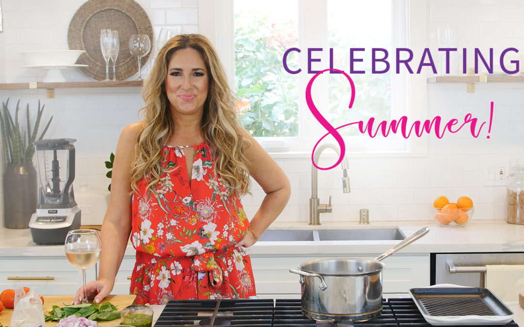 My Menu for a Chic Summer Dinner Party