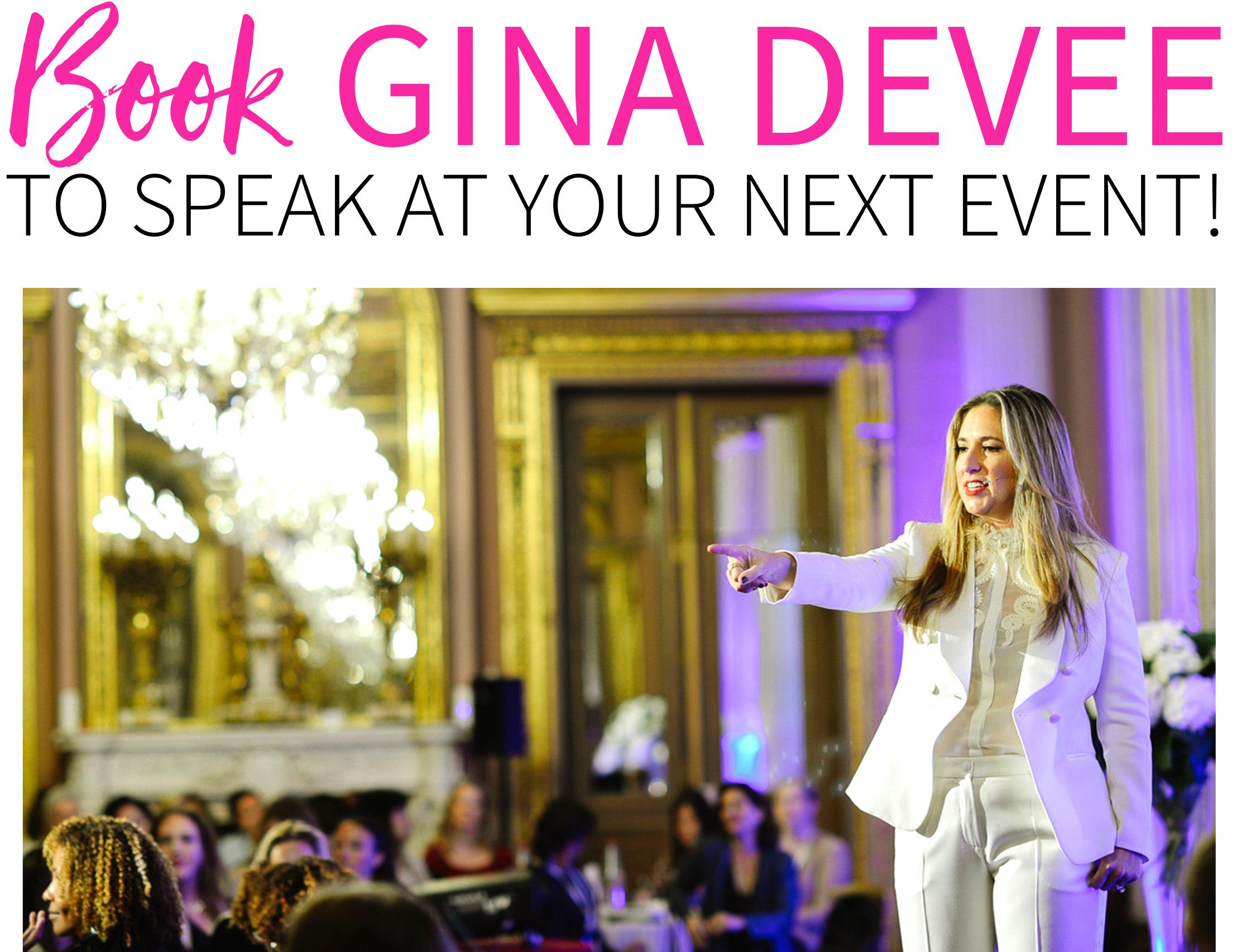 Gina DeVee - Speaker